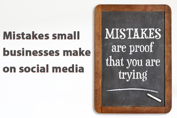 Common mistakes small businesses make on social media janine marin