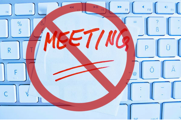 communicate out of a meeting
