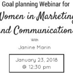 Goal Planning for Women in Marketing and Communications