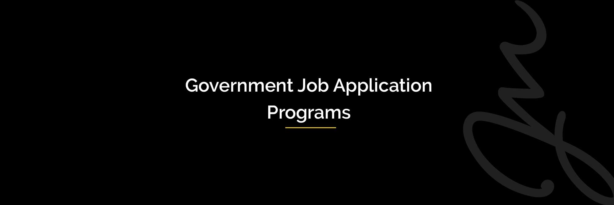 gov-job-applications